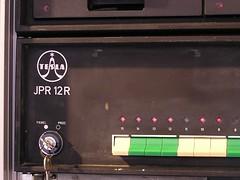 JPR 12 R -- Front panel